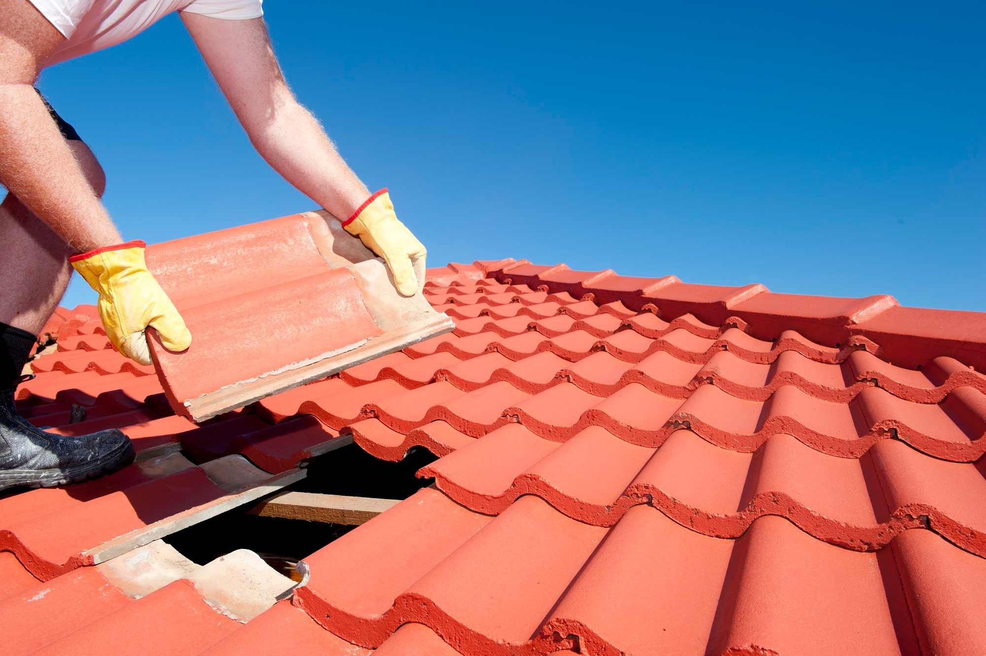 Tejados, cubiertas<br>impermeabilización de fachadas.