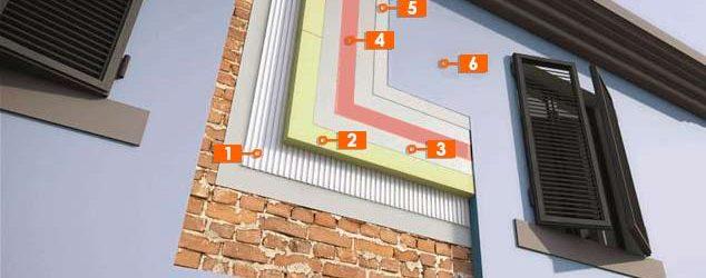 sistema de aislamiento exterior de fachadas